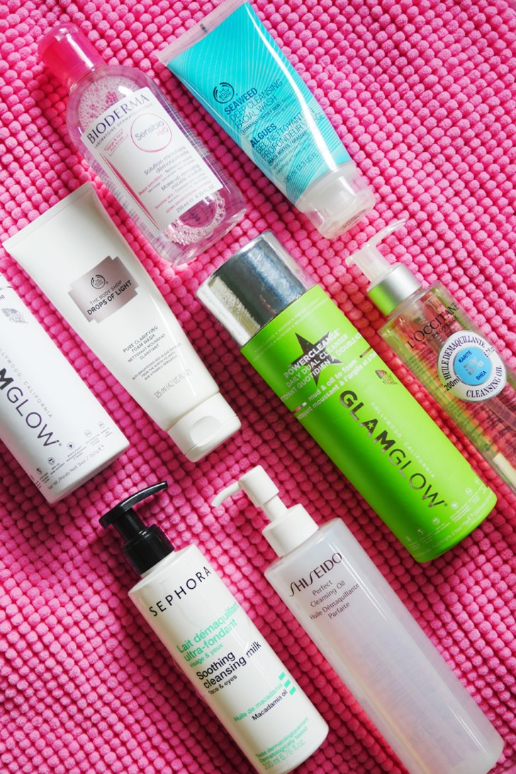 Various Types of Facial Cleanser
