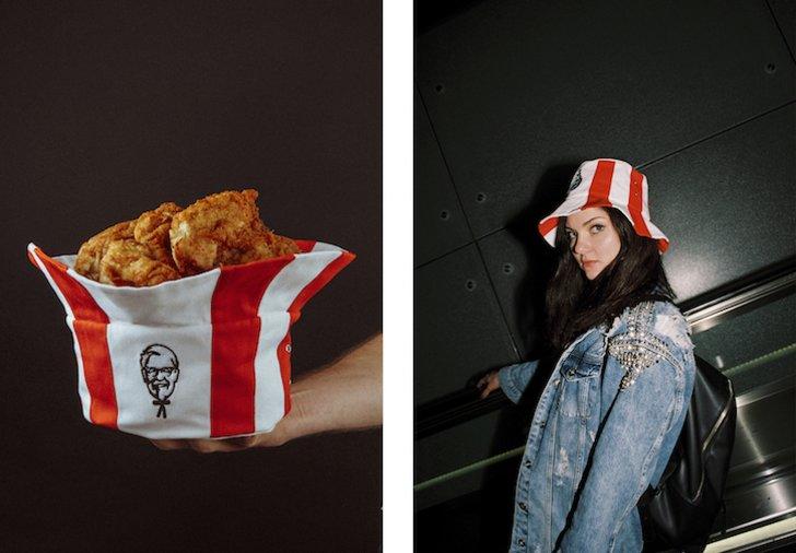 Unik, KFC Rilis Topi yang Bisa Jadi Ember Ayam Goreng