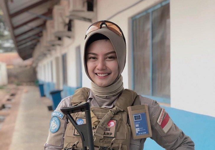 Briptu Imah, Polwan Asal Indonesia yang Jadi Pasukan PBB