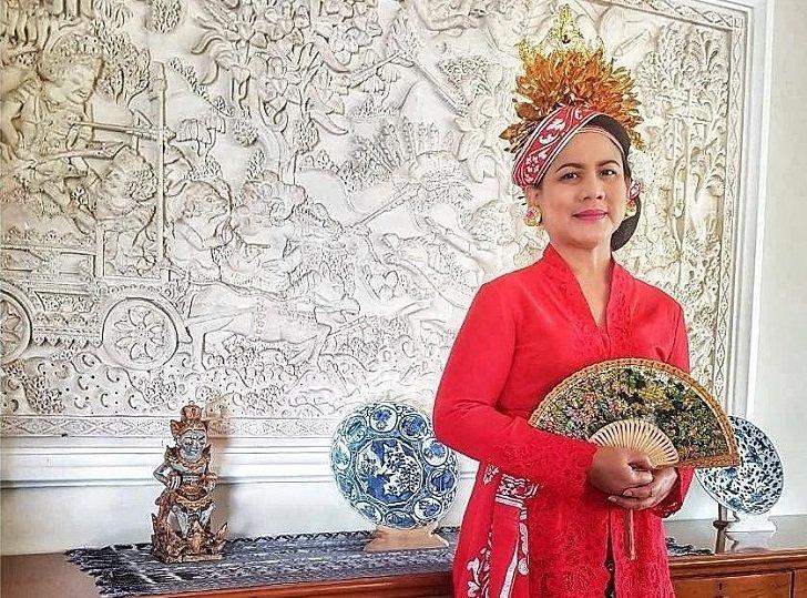 Anggunnya Iriana Jokowi Saat Tampil di Sidang Tahunan MPR