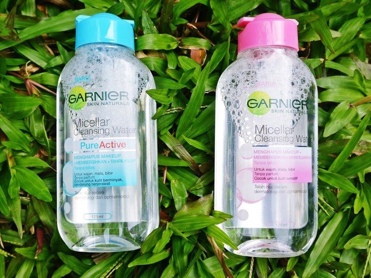 Review Garnier Micellar Cleansing Water – Beda Pink dan Biru