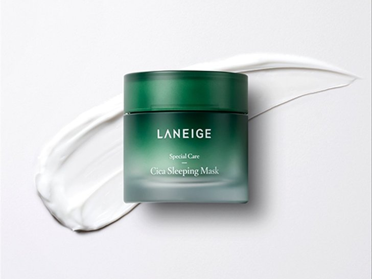 Review: Laneige Cica Sleeping Mask – Masker Kulit Sensitif
