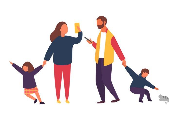 Ini Kenapa Orang Tua Sibuk dengan Gadget Dibanding Anak