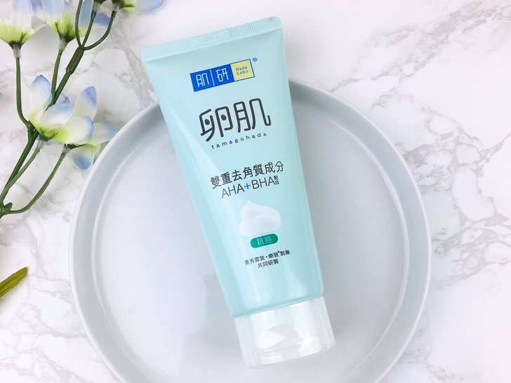 Review Hada Labo Tamagohada Mild Peeling Face Wash