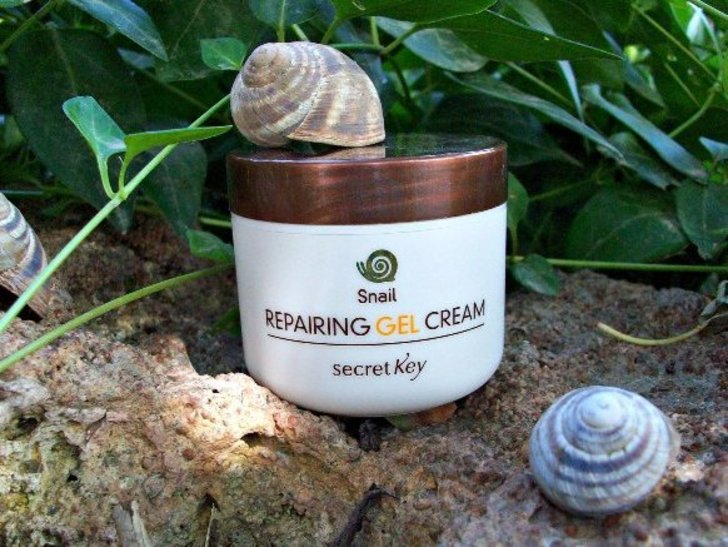 Review Secret Key Snail + EGF Repairing Gel Cream