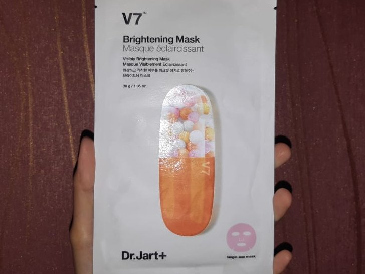 Review DR. JART+ V7 Brightening Mask